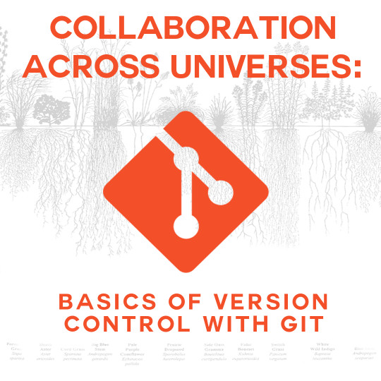 Poster for Collaboration Across Universes: Basics of Version Control with Git