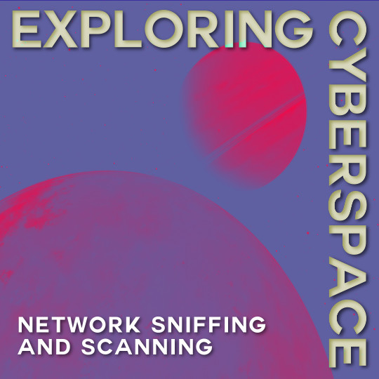 Poster for Exploring Cyberspace: Network Sniffing and Scanning