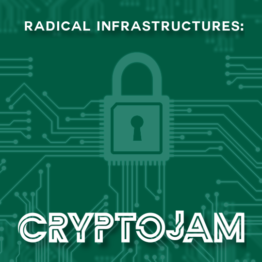 Poster for Radical Infrastructure: Introductory CryptoJam