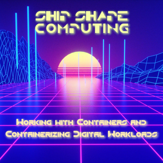 Poster for Ship Shape Computing: Working with Containers and Containerizing Digital Workloads