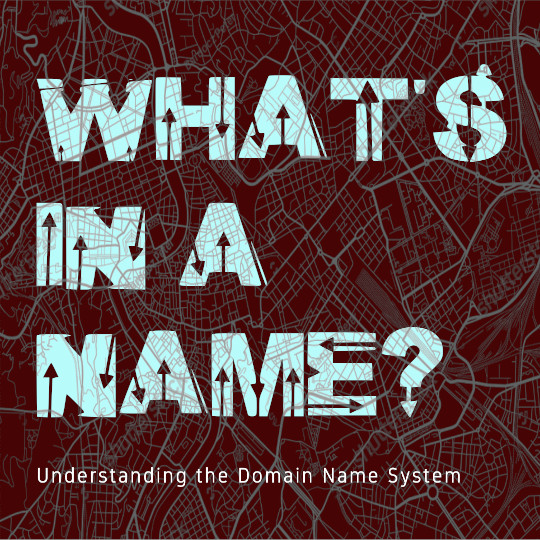 Poster for What's in a Name: Understanding the Domain Name System