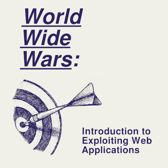 Poster for World Wide Wars: Introduction to Exploiting Web Applications